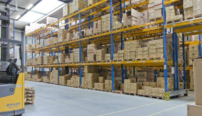 Pearl Music Europe, warehouse, warehousing, By Seacon